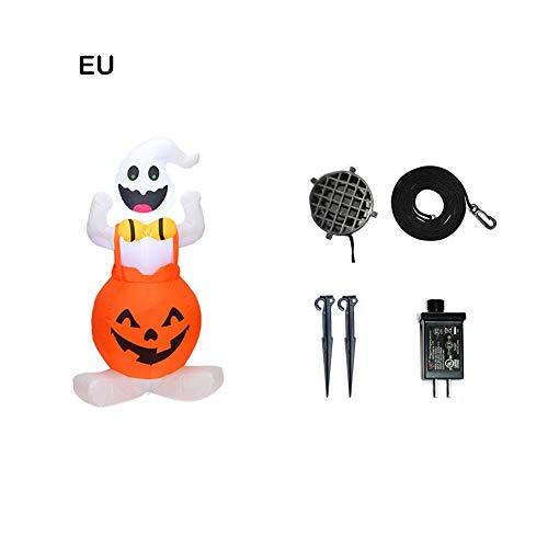Halloween Dekor Ghost - Hook.s Halloween aufblasbare Kürbis und Ghost