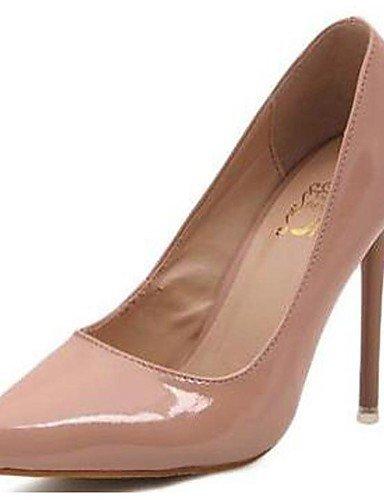 WSS 2016 Chaussures Femme-Mariage / Bureau & Travail / Décontracté / Soirée & Evénement-Noir / Rouge / Amande-Talon Aiguille-Talons-Talons- almond-us6.5-7 / eu37 / uk4.5-5 / cn37