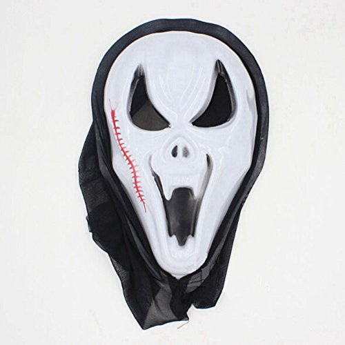 Zantec One Piece Halloween Bleeding Scream Scary Horror Ghost Mask Can Be Used During Dress Party Screaming (Ghostbusters Kostüm Kleinkind)