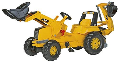 rolly-toys-813001-traktor-cat-mit-lader-und-heckbagger
