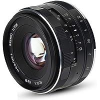 EBTOOLS 35mm F1.7 Aperture Manuelles Objektiv mit Mehrfachbeschichtung APS-C Zubehör für Sony SLR E Mount