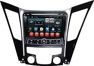 """Generic 8 """"Android 4.4 autoradio pour Hyundai SONATA 2011 SONATA YF i40 i45 i50 lecteur 2011 2012 DVD GPS RDS Suppoet WIFI 3 g IPOD Prise BT à ATV USB, écran vidéo écran tactile stéréo multimédia Radio de Navigation"""