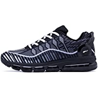 ONEMIX Running Chaussure Hommes 3D Knit Air Max Flyknit Léger pour La Marche Gym Fitness Jogging Fitness Sport en Plein Air Sneaker Casual