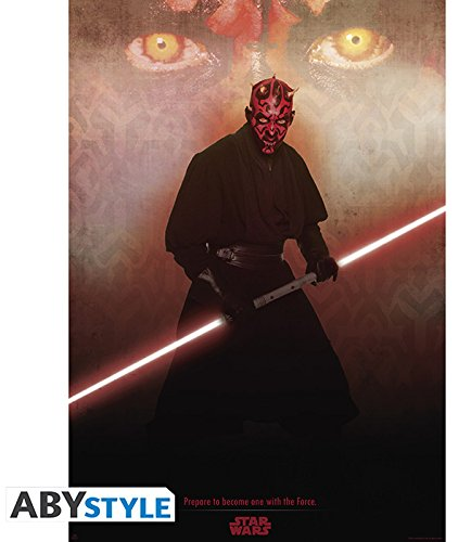 ABYstyle ABYDCO206 - Poster Star Wars, Darth Maul (Haut Darth Maul)