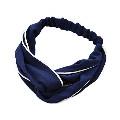 Gespout Gummiband Yoga Stirnbänder Sport Haarbänder Kopfschmuck Haarschmuck Einfarbig Mädchen Haar Accessoires Dekorationen