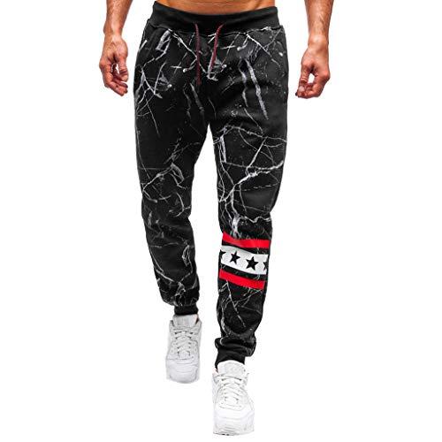 Qinhanjia Männer Casual Outdoor Print Mehrfach Arbeitshose Cargo Gym Sport Lange Hosen, Fashion Outdoors Print Mehrfach Arbeitshose Cargo Long Pants -