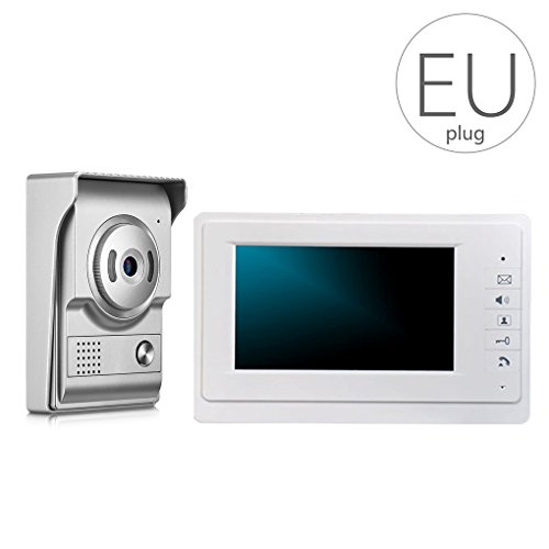 Immagine di LUFA V70F-L + 7 pollici LCD a colori Videocitofono Videocitofono campanello Home Security IR Night Vision Camera impermeabile
