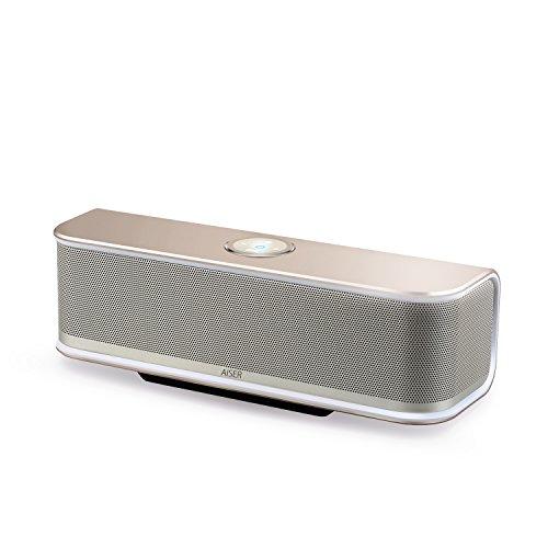 AISER HSR 13, Bluetooth Boom Box, altavoz 20 vatios, aluminio