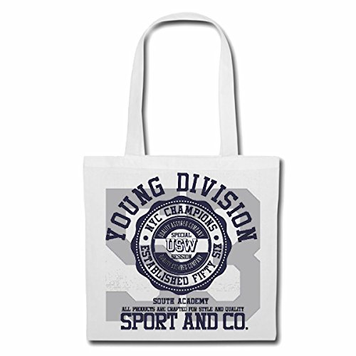 sac à bandoulière YOUNG DIVISION NEW YORK CITY CHAMPIONS LEAGUE COLLEGE USA AMÉRIQUE LOS ANGELES CALIFORNIA BROOKLYN NEW YORK CITY MANHATTAN RUGBY BASEBALL FOOTBALL FOOTBALL Sac Turnbeutel scolaire