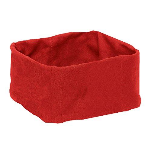 Blomus 63470 Poche en Tissu pour Corbeille à Pain Desa Taille S Rouge Coton, 19,5 x 19,5 x 10,5 cm