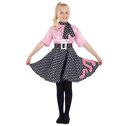 Fun Shack FNK2965XL Kostüm, Girls, 50s Poodle Dress, XL