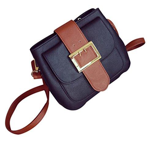Koly_Modo delle donne di spalla del sacchetto Nero