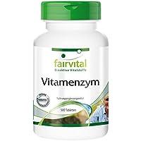 Preisvergleich für Vitamenzym - GROSSPACKUNG für 5 Monate - HOCHDOSIERT - 500 Tabletten - Enzym-Komplex