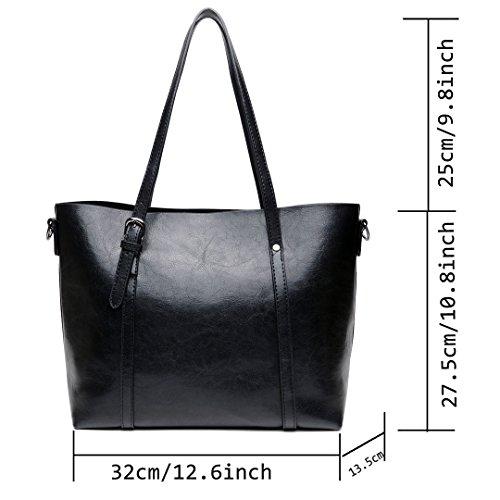 2e48cf1f65ecb Günstig DIYNP Damen Handtaschen Schultertasche große Tote Shopper ...