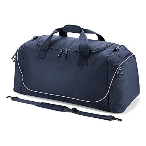 Quadra Teamwear Jumbo-Tasche Rot / schwarz / wei? Marineblau / silber