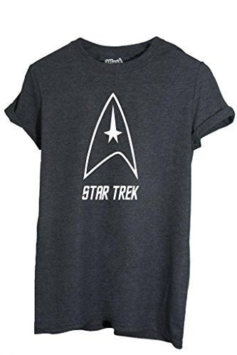 T-SHIRT STAR TREK LOGO - MOVIE by MUSH Dress Your Style - Donna-L