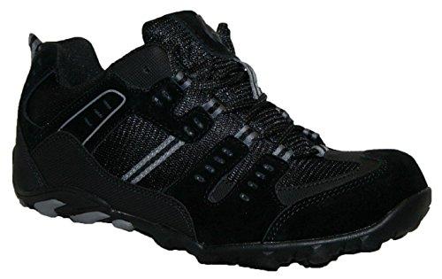Groundwork GR02 N, Chaussures de sécurité homme noir/gris
