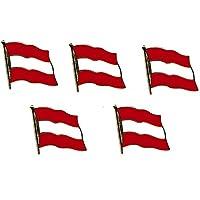Yantec Flaggenpin 5er Pack Ungarn Pin Anstecknadel Fahnenpin