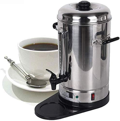 Unbekannt Kaffee-Maschine, automatische Edelstahl-Kaffeemaschine, Filter-Espressomaschine, Kaffeemaschine / 6L