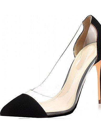 WSS 2016 Chaussures Femme-Mariage / Bureau & Travail / Habillé / Décontracté / Soirée & Evénement-Noir / Bleu / Vert / Violet / Rouge / Argent / purple-us5 / eu35 / uk3 / cn34