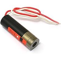 Q-BAIHE Industrial 650NM 5MW 3–5VDC Cable de Línea de Láser Rojo Módulo w 13x 42mm