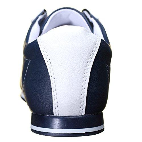 Goor - Basket M01 Marine Bleu