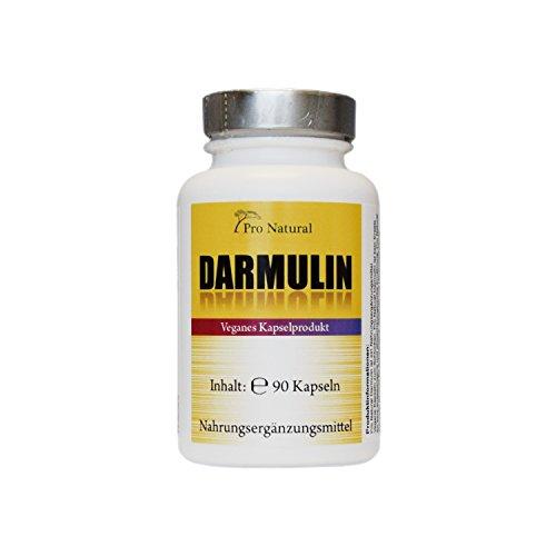DARMULIN natürliche Darmreinigung und Darm-Entgiftung • Detox und Entschlackung mit Flohsamenschalen, Inulin, Apfelpektin, Apple Pektin, Wurzel Gentian etc. 100 Prozent