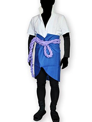 Disfraces cosplay de Sasuke Uchiha de la serie Naruto. Talla: M