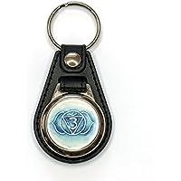 """Schlüsselanhänger """"Chakra-Zeichen"""" mit Einkaufschip, handgemalt, für Männer und Frauen preisvergleich bei billige-tabletten.eu"""