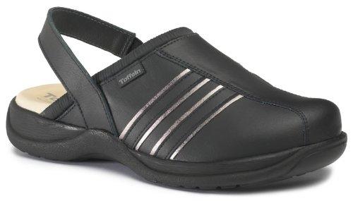 Toffeln Ultra Lite 0424 sportive sabots bride du talon allaitement chaussures Noir
