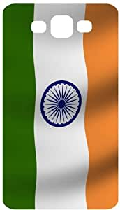 India Flag Flying Wind Black Flip Case for Samsung Galaxy S3 / SIII / I9300