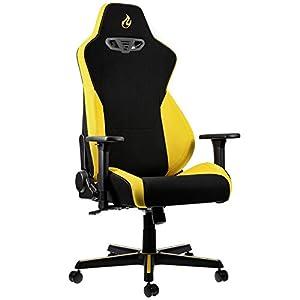 OVERCLOCKERS Nitro Concepts S300 – Chair – armrests – T-shaped – swivel – nylon, polyurethane, fabric, steel, col
