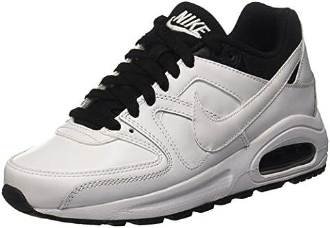 Nike Air Max Command Flex LTR GS Chaussures de running, Garçons, Blanc, 37 1/2