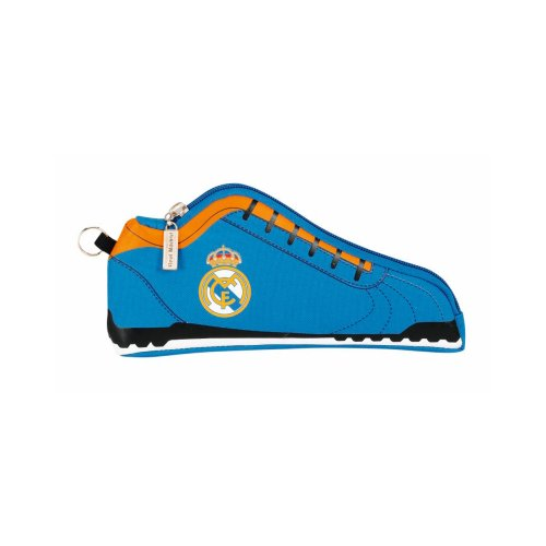 Real Madrid-Kulturtasche Sneaker, 24x 10x 2cm, blau (SAFTA 811456584) -
