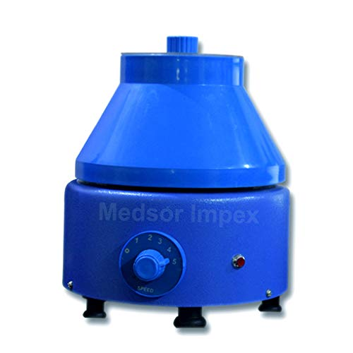 Medsor Impex Lab Centrifuge Machine (Metall,) Standard BLAU - Lab Metall
