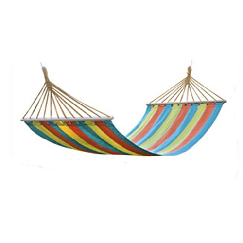 SEABECCA Hammock Outdoor Cotton Canvas Swing Bed