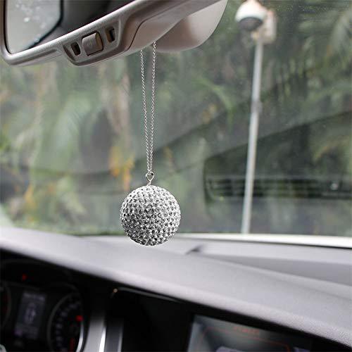 spiegel Charme Bling Kristallkugel Anhänger Nachahmung Strasssteine   Innendekoration Glas Kugel Glück Anhänger ()