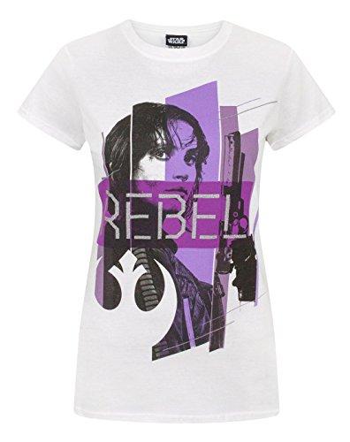 Rogue One Star Wars Rebel Women's T-Shirt (M)