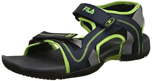 Fila Men's Harley Pea/Gry/LIM Pnch Sandals-7 UK/India (41 EU)(11006575)