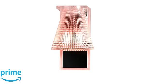Kartell ro applique murale plastique rosa amazon