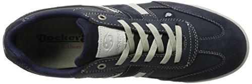 Dockers by Gerli Herren 28pe901-204665 Sneaker Blau (navy/weiss)