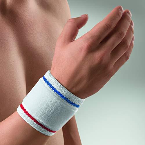 bort 1410 large weiß ActiveColor Handgelenkbandage für rechts und links gleich, large, weiß -
