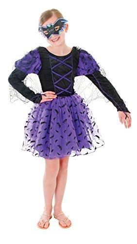 BAT PRINCESS (DRESS,CAPE,EYEMASK) (LARGE AGE 9-12),GIRLS COSTUMES,FANCY (Fancy Bat Kostüme Dress)