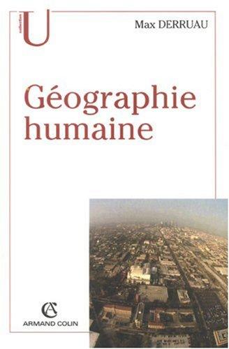 Géographie Humaine 8ème édition