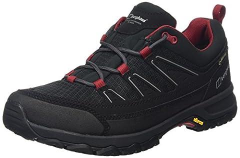 Berghaus Men's Explorer Active Gtx Tech Low Rise Hiking Boots - Multicolour (Black/Red), 8 UK