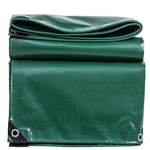 Épaissir la bâche imperméable de protection solaire antipluie résistant à la déchirure anti-vieillissement enduit en plastique enduit de tente de camping auvent de panneau de plancher de plancher de h