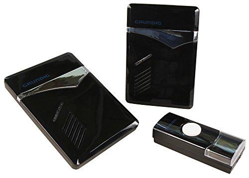 GRUNDIG gRUNDIG carillon sans fil avec 2 récepteurs, noir