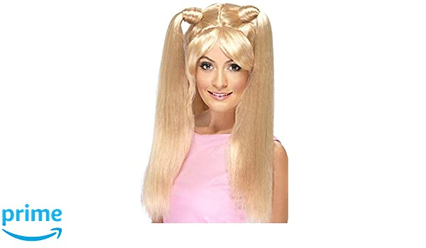 52939f32a Ladies 1990s Posh Ginger Baby Scary Sporty Spice Girls Wig Fancy ...