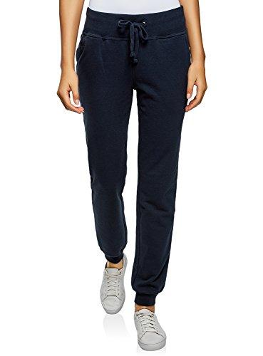 oodji Ultra Damen Jersey-Hose (2er-Pack), Mehrfarbig, DE 42 / EU 44 / XL