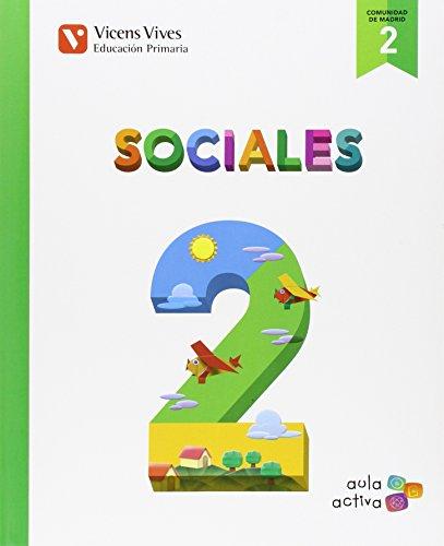 SOCIALES 2 MADRID (AULA ACTIVA): 000001 - 9788468228570 por Carles Flo Esteve